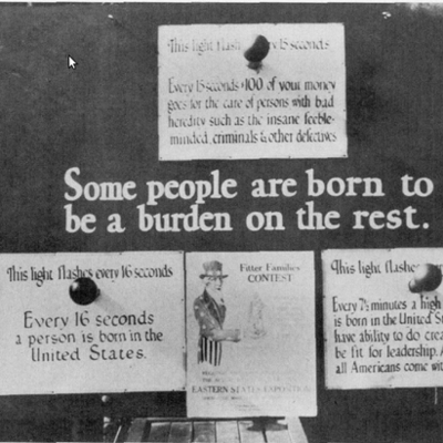 The History of Eugenics as a Philosophy and in Practice timeline