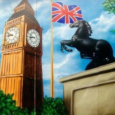 London timeline Aya, Sara en Ayse.
