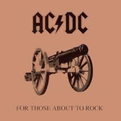 Eighth album ( For Those About To Rock(We Salute You))