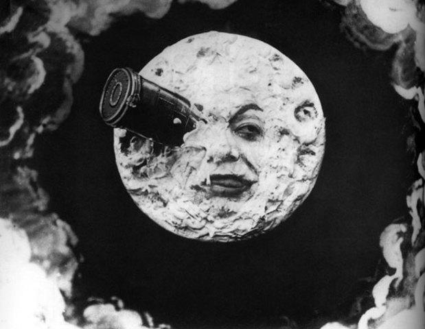 Georges Méliès - Viaje a la luna.