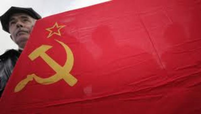 The breakup of the Soviet Union
