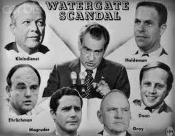 Richard Nixon in the Watergate scandal