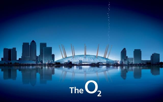 De O2 Arena van Asma