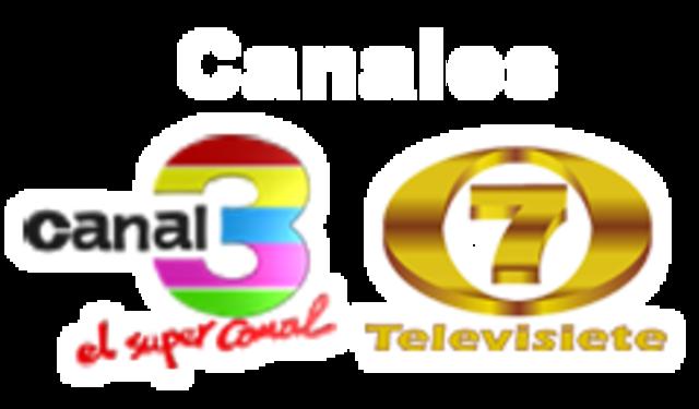 Canales nacionales 3 y 7