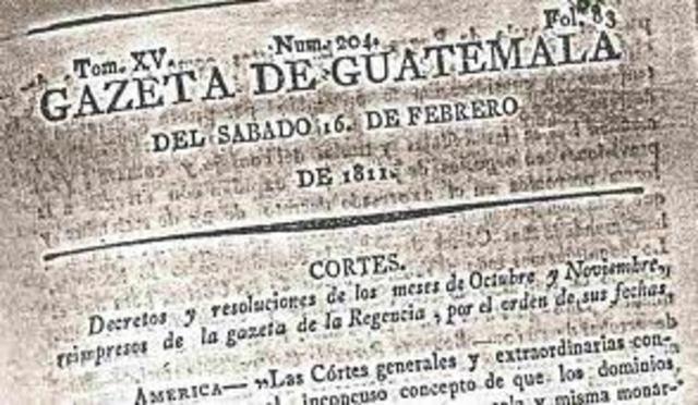Tercera Época de la Gazeta de Guatemala