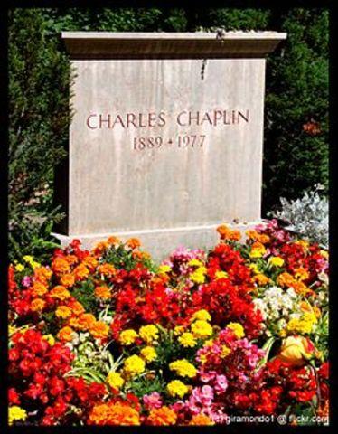 CHAPLIN R.I.P.