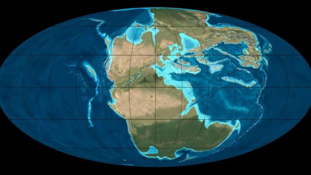 Single Supercontinent Comes Together
