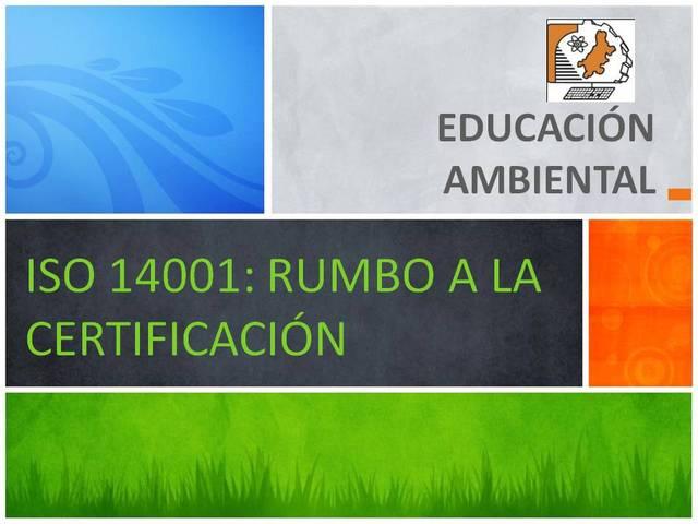 Se crea la Dirección General de Educación Ambiental.