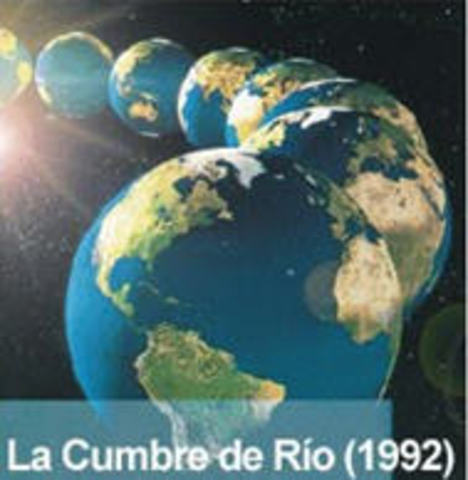 Conferencia de las Naciones Unidas sobre Medio Ambiente y Desarrollo (CNUMAD) de Río de Janeiro, Brasil