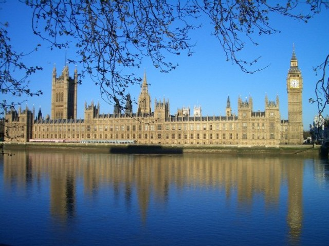 Het Palace of Westminster van Yasmine