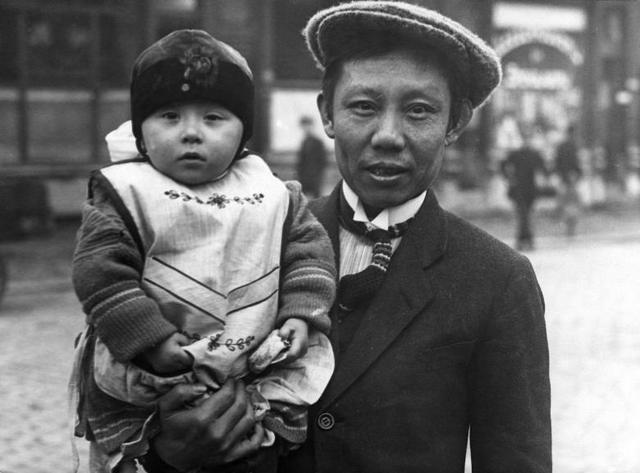 De eerste Chinezen