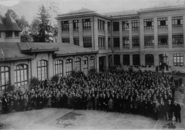 Primer congreso Panamericano de Trabajo Social.