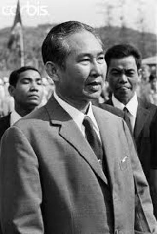 Pol Pot defeats Lon Nol