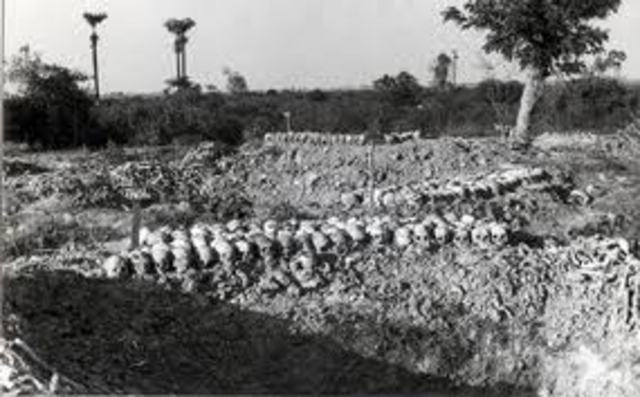 Pol Pot burning evidence