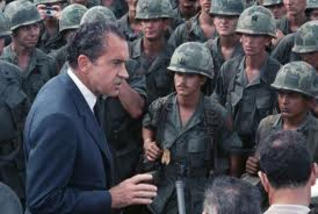 Nixon WIthdraws Troops From Vietnam