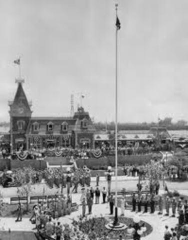 Disneyland Opened