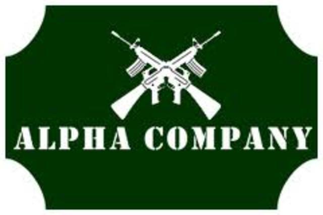 O'Brien arrives at alpha company