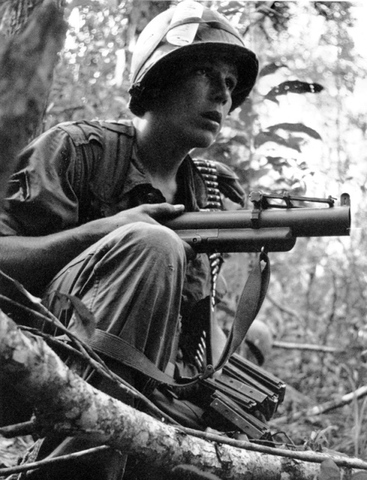 The North Vietnamese cross to the Demilitarized Zone