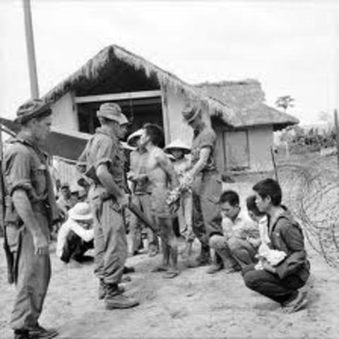 Vietcong withdrawls