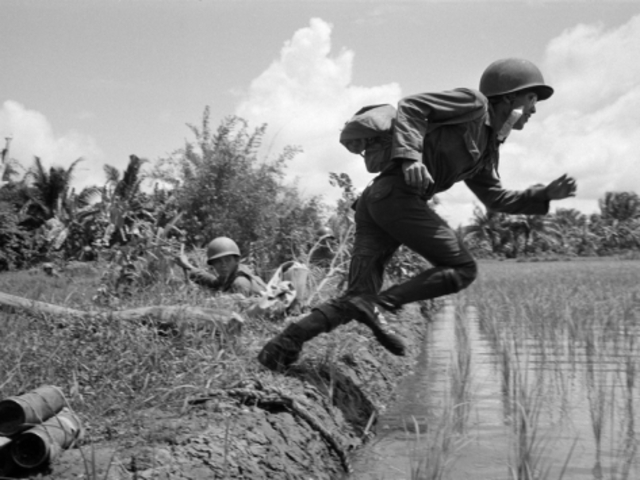 First combat mission between the US and Vietcong