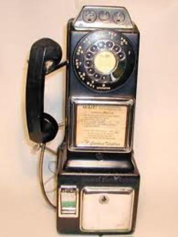 The Coin Telephone invented