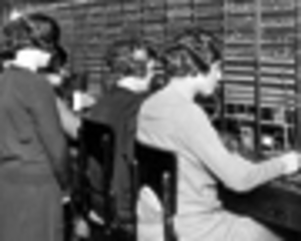 AT&T created first transatlantic telephone link