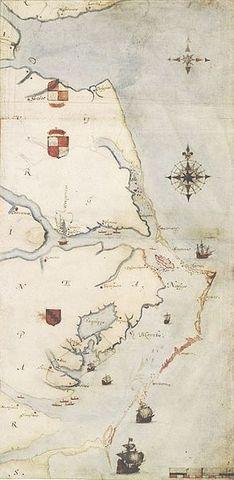 Founding of the Roanoke Colony