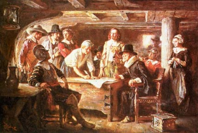 Plymouth and the Mayflower Compact