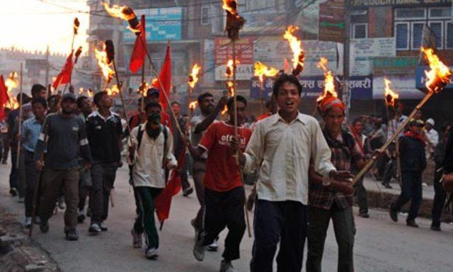 Civil Strike in Nepal