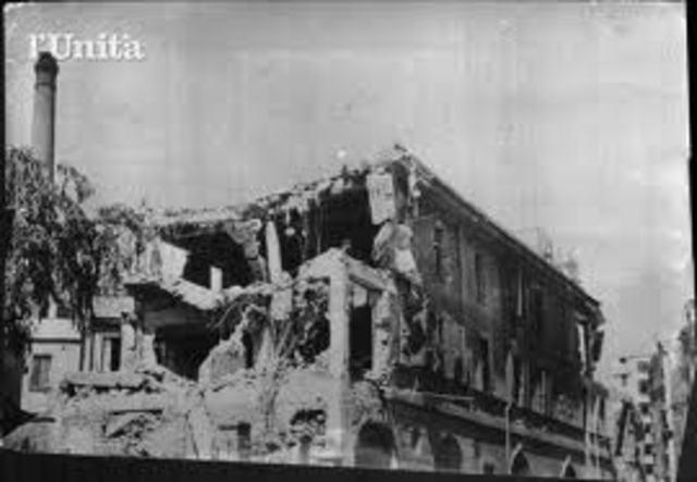 BOMBARDAMENTI ALLEATI SULL'ITALIA
