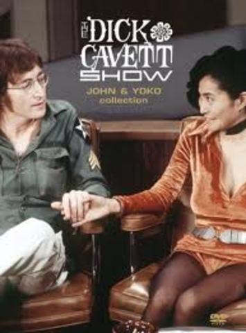 John Lennon's first appearance on the Dick Cavett Talk show