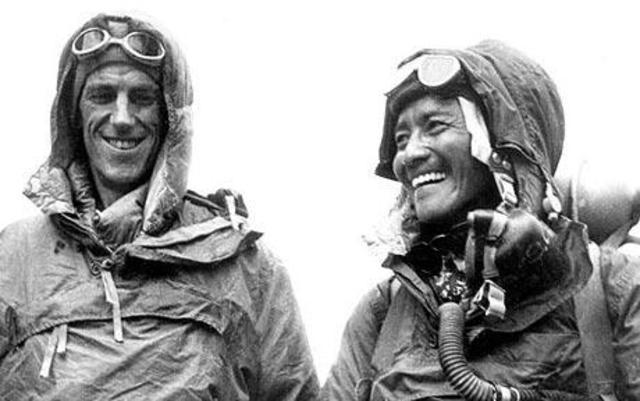 First Climb on Mt. Everest