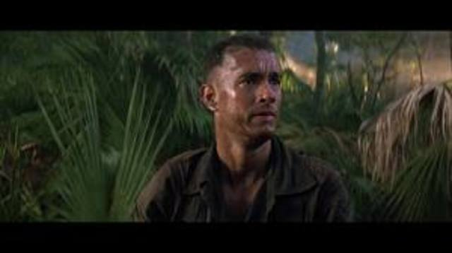 Forrest saves the members of his platoon in battle