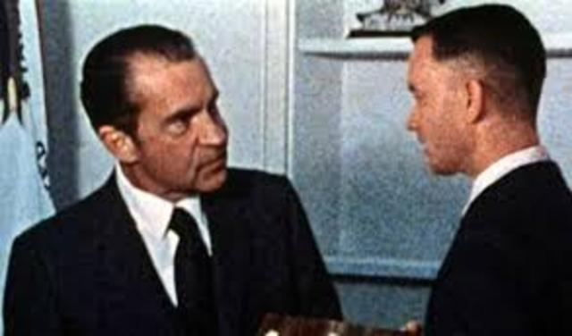 Date of the Watergate break in (also the date Forrest meets President Nixon)