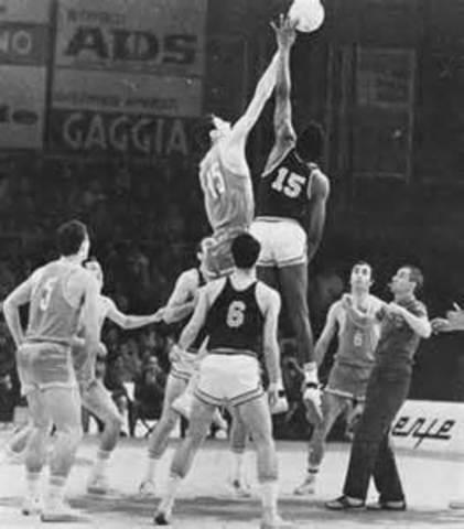 el baloncesto en Yugoslavia.