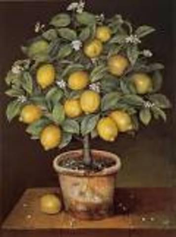 Curt Lemon is blown into a tree