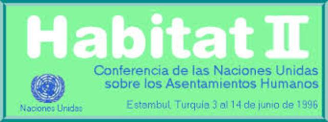 2ª Conferencia delas Naciones Unidassobre elHabitatHumano(Habitat II)9