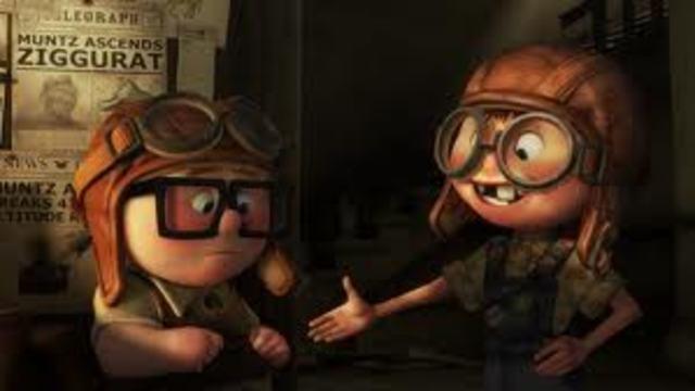 Carl meets Ellie