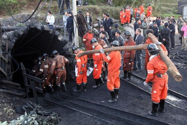 Coal Miners Trapped