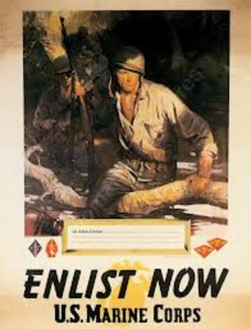 U,S military conscription bill passed.