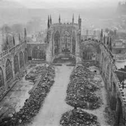 England bombed