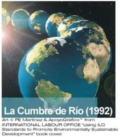 Cumbre de la Tierra o de Río en Río de Janeiro, Brasil