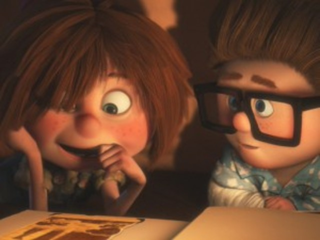 Carl promises Ellie that they will have a house at Paradise Falls.