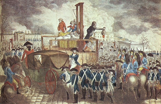 Louis XVI is sent to the Guillotine