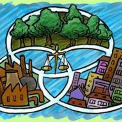 Principales antecedentes internacionales y nacionales de la educación ambiental y el desarrollo sustentable  timeline