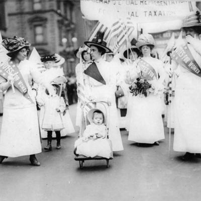 Womens suffrage timeline