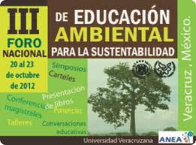 Se crea la Dirección General de Educación Ambiental.(D.F)