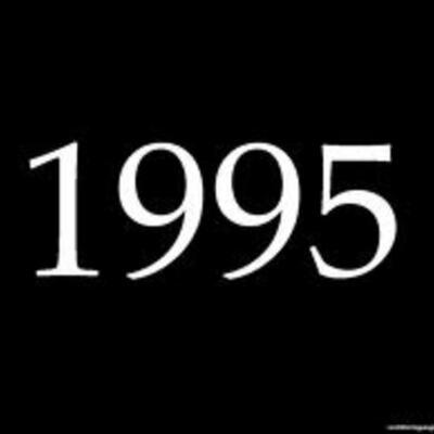 1995 timeline