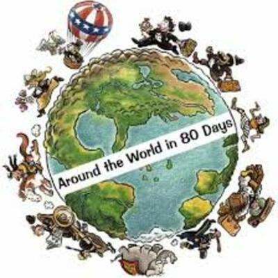 La Vuelta al Mundo en 80 Dias timeline