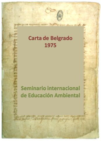 1er Seminario Internacional de Educación Ambiental, Belgrado